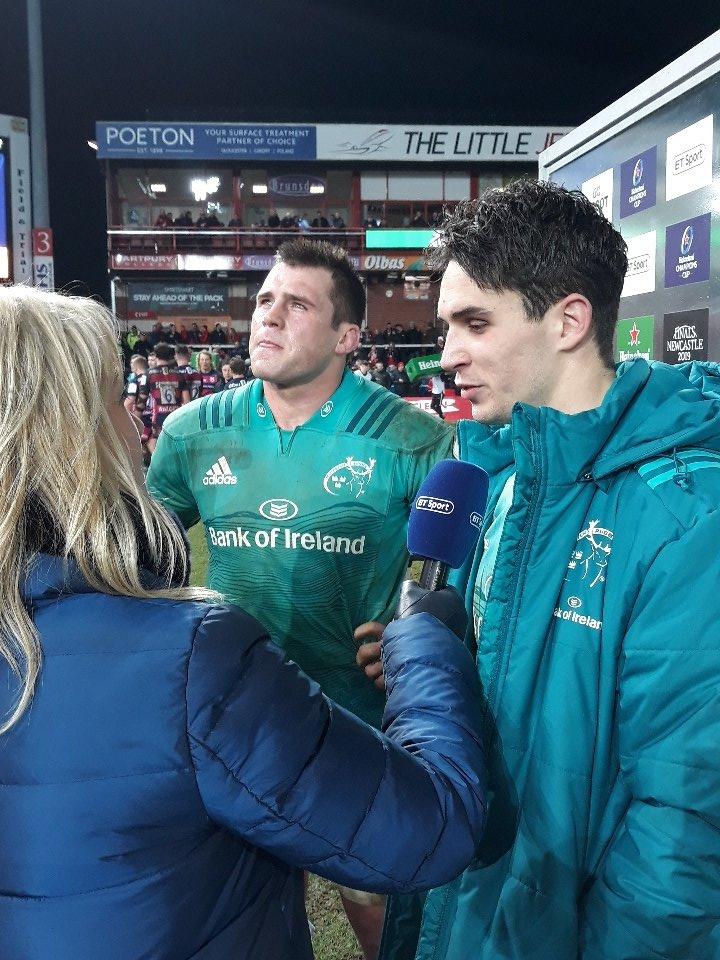 Munster Rugby's photo on #GLOvMUN