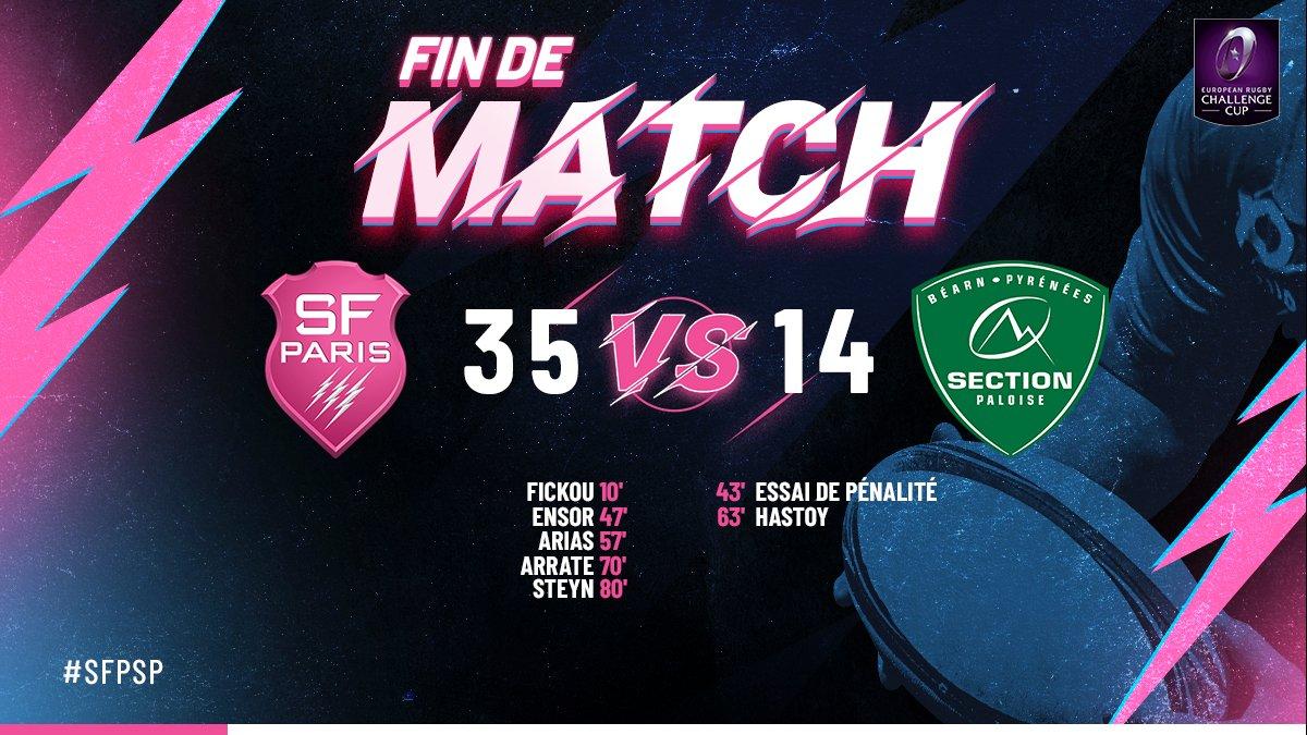 Stade Français Paris's photo on #SFPSP