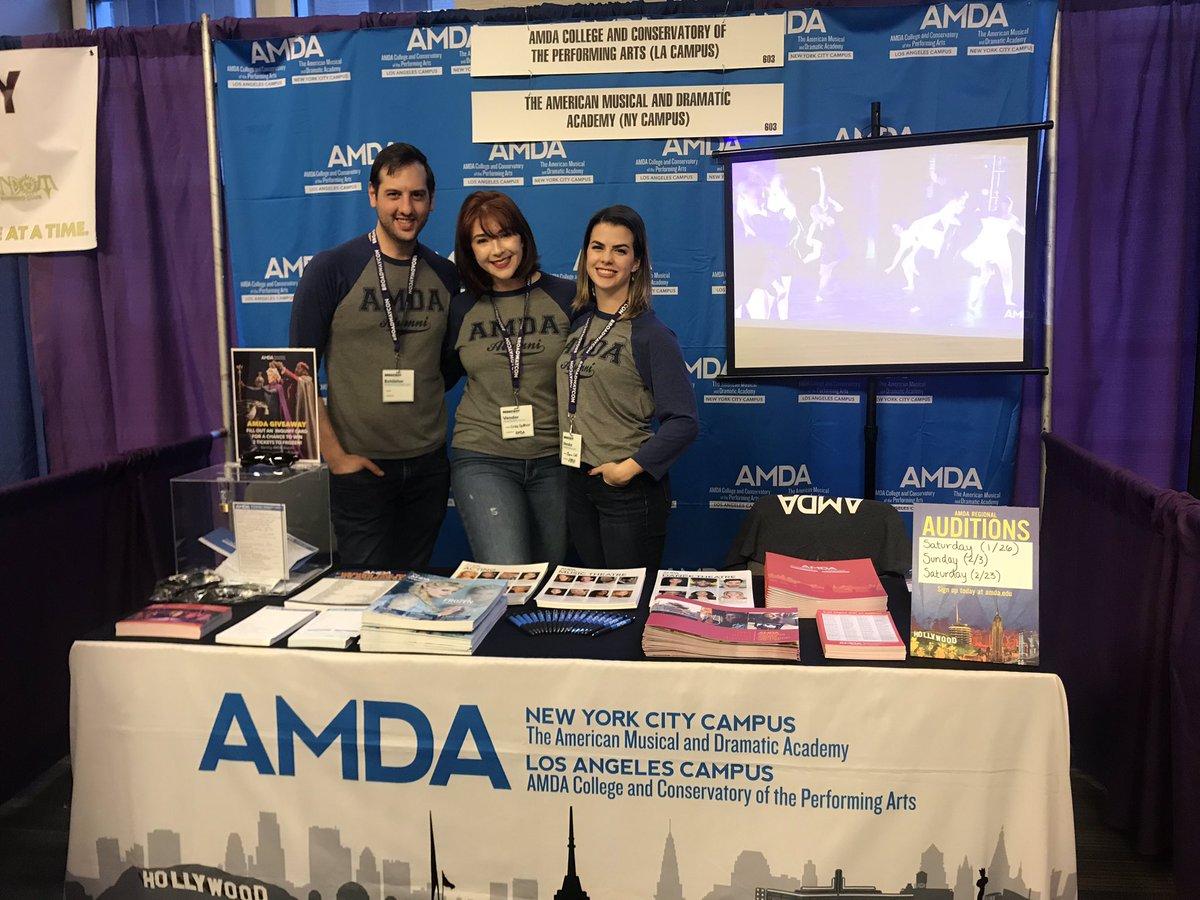 AMDA Alumni's photo on #BroadwayCon