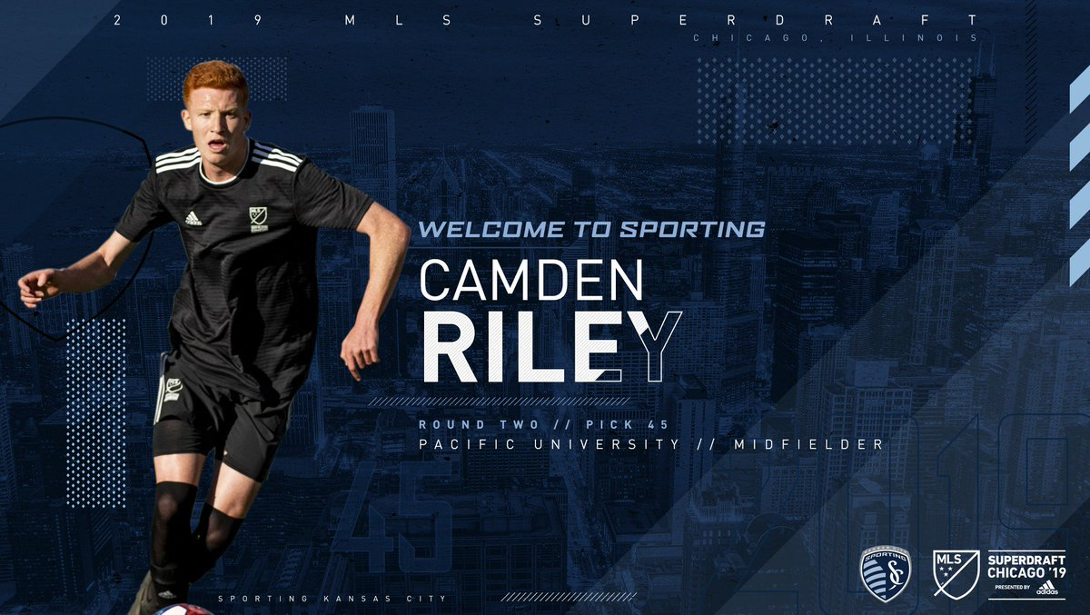 Sporting KC's photo on Camden Riley