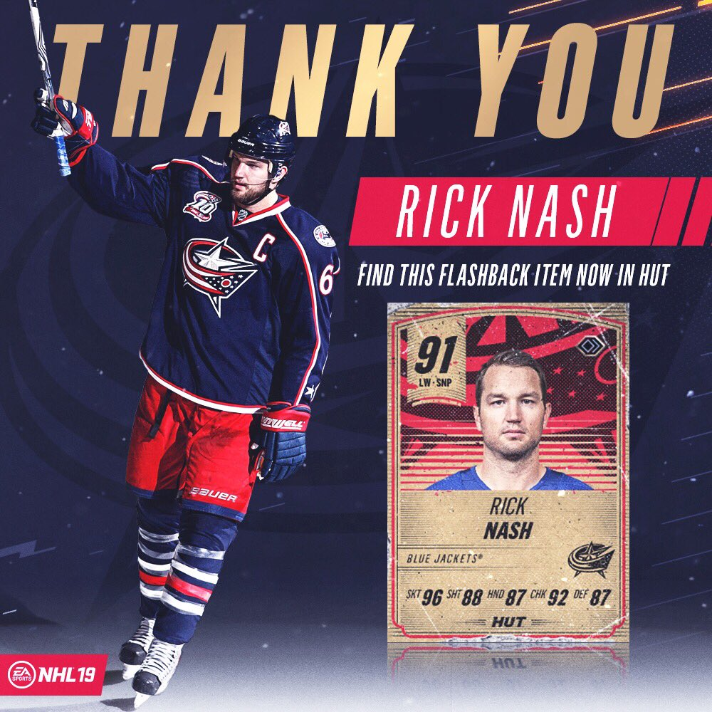 #NHL19's photo on rick nash