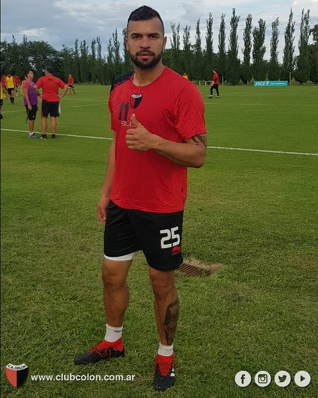 Club Atlético Colón's photo on Andrés Cadavid