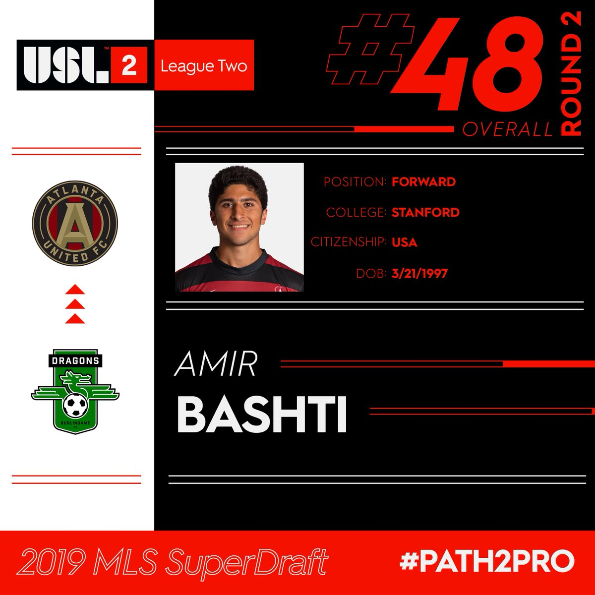 USL League Two's photo on Amir Bashti