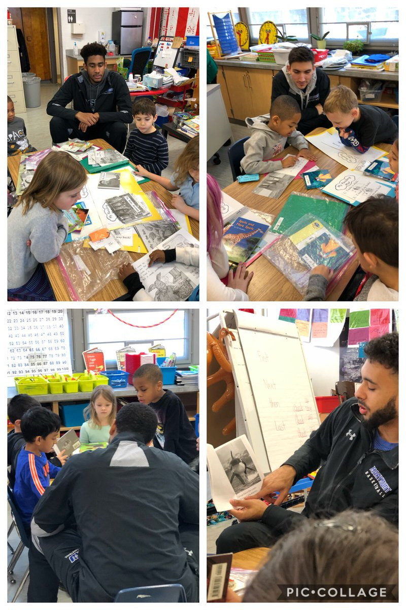 Mary Mount basketball players took turns reading with our eager readers! Amazing morning! <a target='_blank' href='https://t.co/o1M1wiUTu8'>https://t.co/o1M1wiUTu8</a>