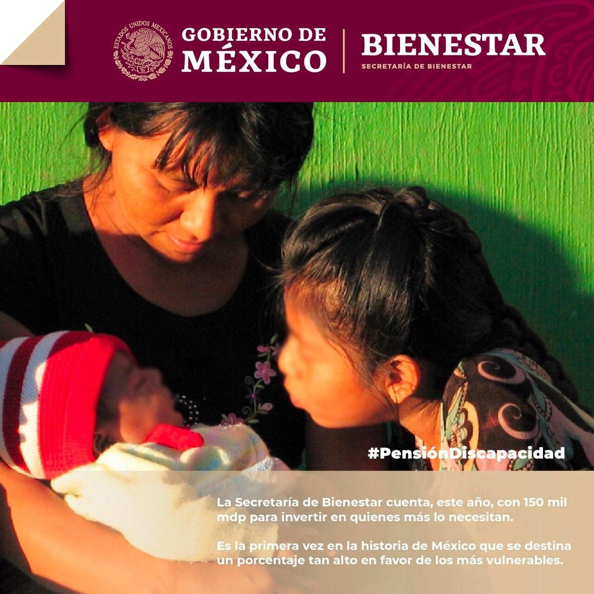 Bienestar's photo on personas con discapacidad