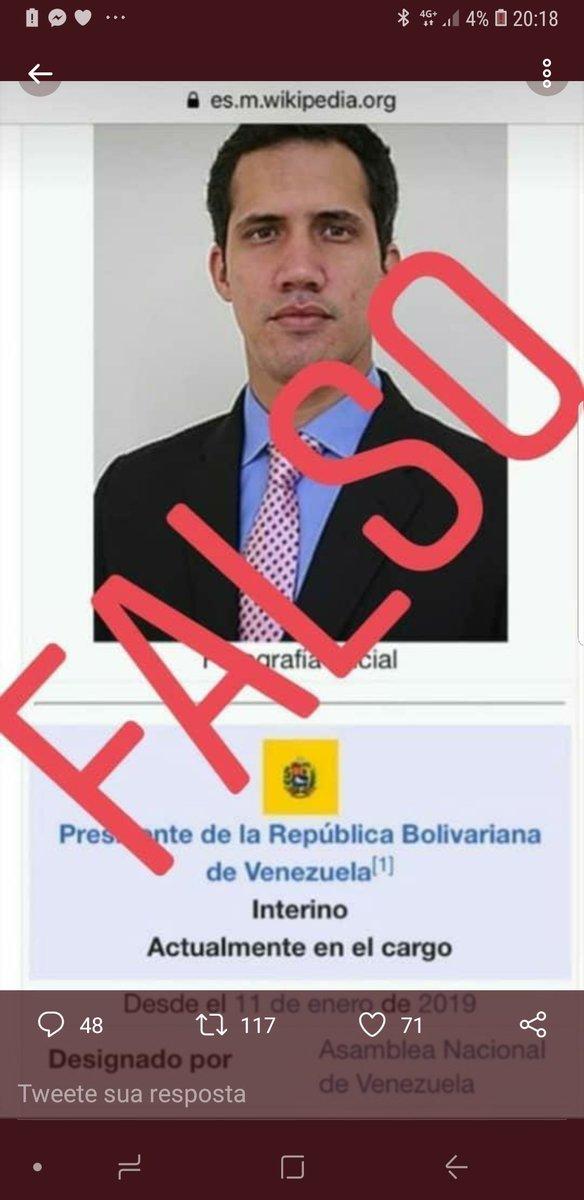 Olha o tipinho que se autodeclarou presidente da Venezuela... Cara de coxinha do MBL