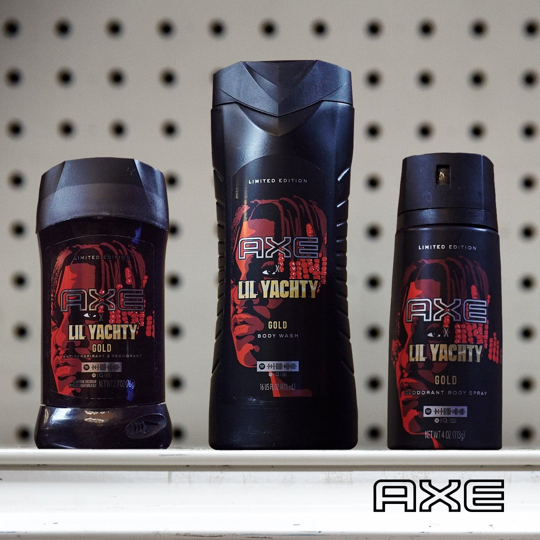 Big news: in stores everywhere is my very own line of GOLD products. Stay tuned for more freshness from @AXE #AXEpartner