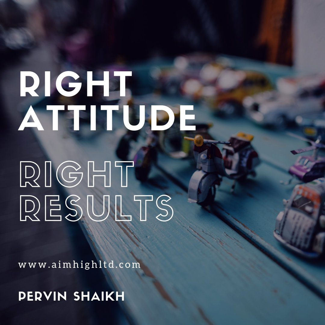 Right attitude. Right results   #AimHigh #makeyourownlane #entrepreneur #selfimprovement #makeyourmark #successtrain #fridaymotivation #fridaywisdom <br>http://pic.twitter.com/h5fjuXN2iy