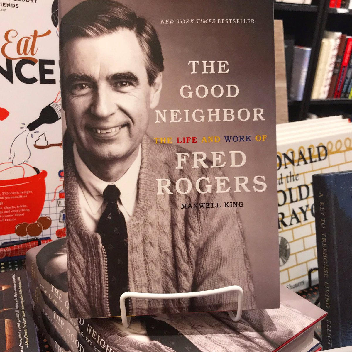 Classiclinesbooks On Twitter The Words And Life Of Mister Rogers Are Needed Now More Than Ever Don T Miss Maxwell King S Definitive Biography On Fred Rogers Back In Stock Now Fredrogers
