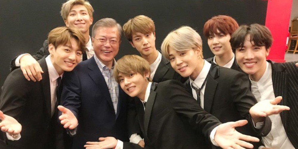 President Moon Jae In mentions BTS in New Year's speech https://t.co/1QvARLTc6m