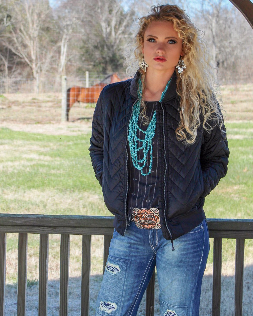59e0659aade this jacket from  CinchJeans  crueldenim. It s easy to style. I just added  jewelry from Blush Out West +  spoiledcowgirlz + my custom buckle from ...