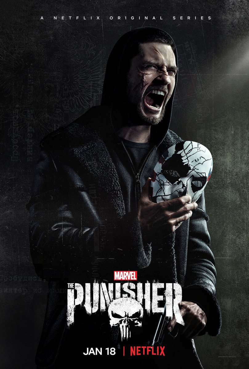 More blood. More trouble. #ThePunisher