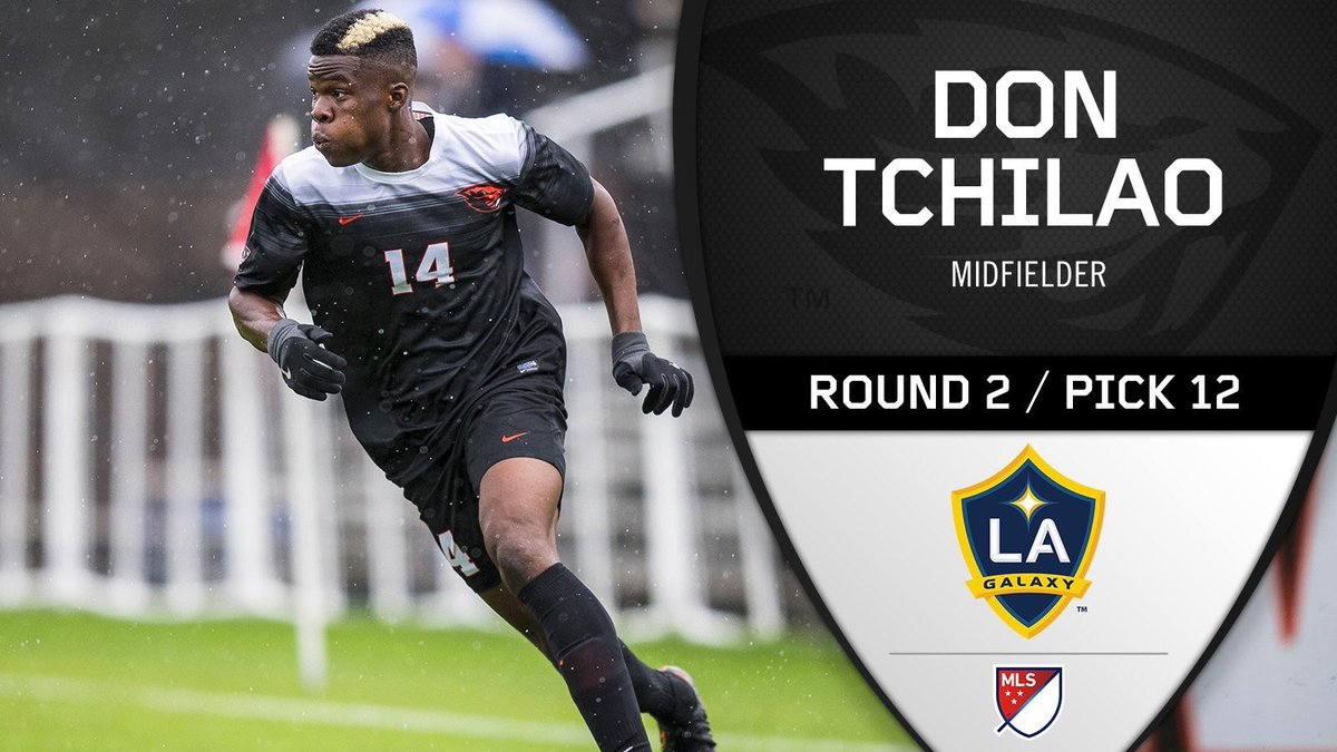 This one is for my Mom and Dad and all they've sacrificed for me to get here. Thank you to the @LAGalaxy for taking a chance on me. Thank you to all my past coaches and teammates for helping me be the player and person I am today. God is good! #SuperDraft #GoBeavs<br>http://pic.twitter.com/03J5EL7yk5