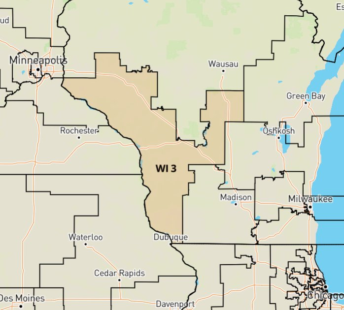 illinois 3rd congressional district - 698×630