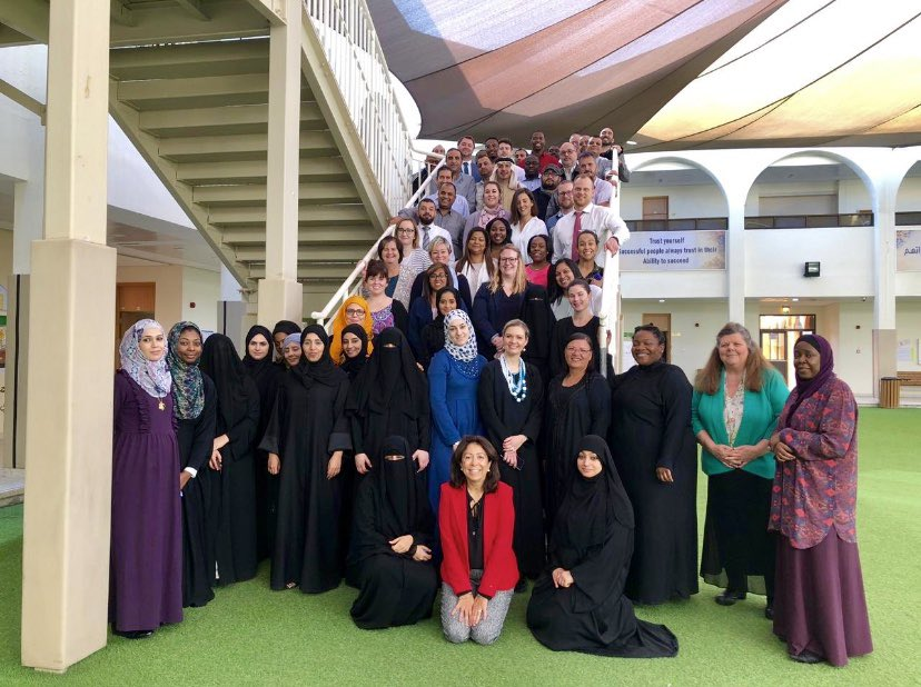 Another phenomenal week of teacher training with @STEMrevolution is complete! So thankful for the opportunity to work in Abu Dhabi with educators from all over the world! #STrEaMy