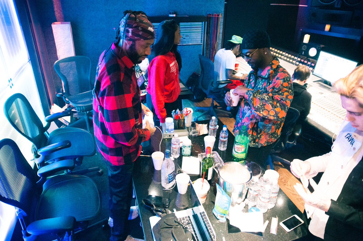 Nights in the studio