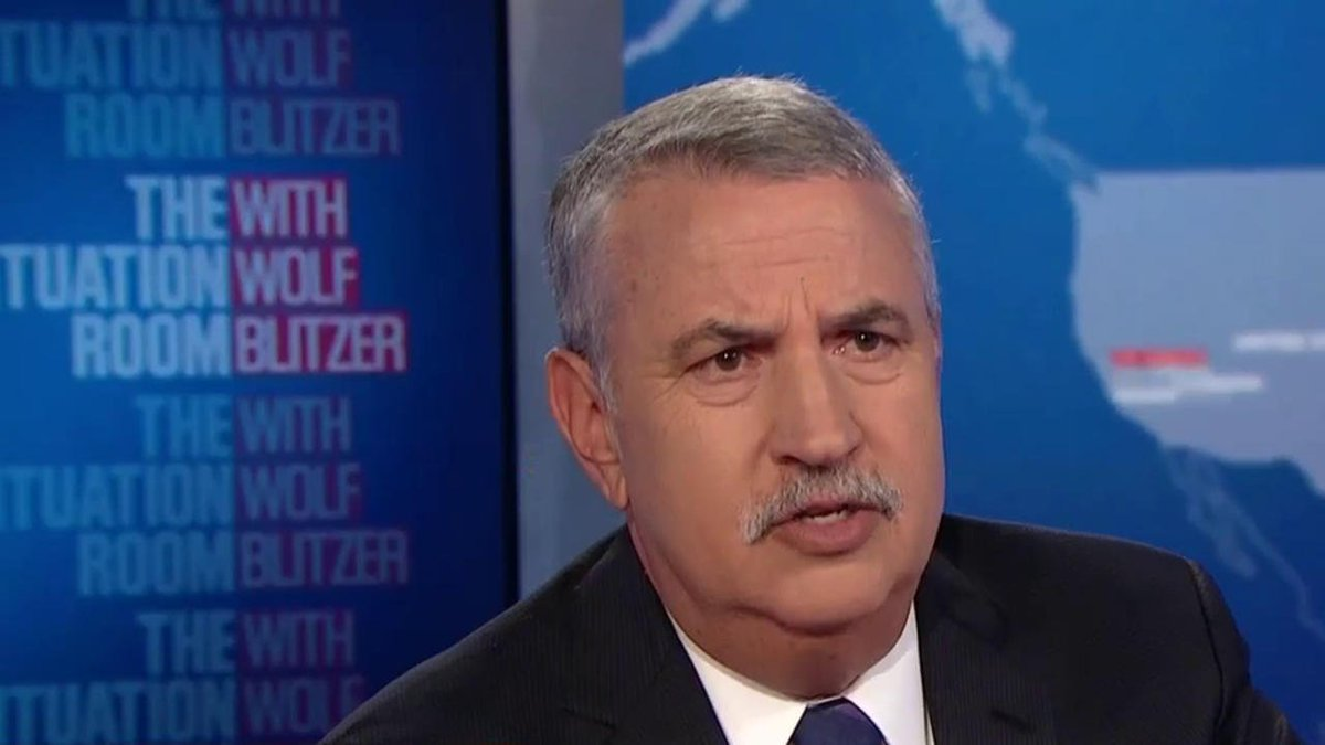 """""""We have a core problem. We have a President without shame, who is backed by a party without spine, that is supported by a network called Fox News, without integrity,"""" says author @tomfriedman, of Donald Trump.  https://cnn.it/2QCC8AJ"""