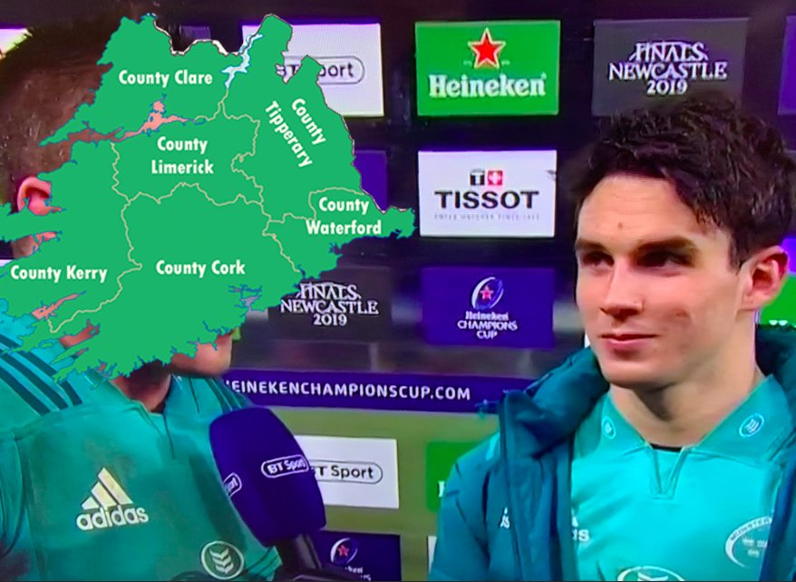 Three Red Kings's photo on Joey Carbery