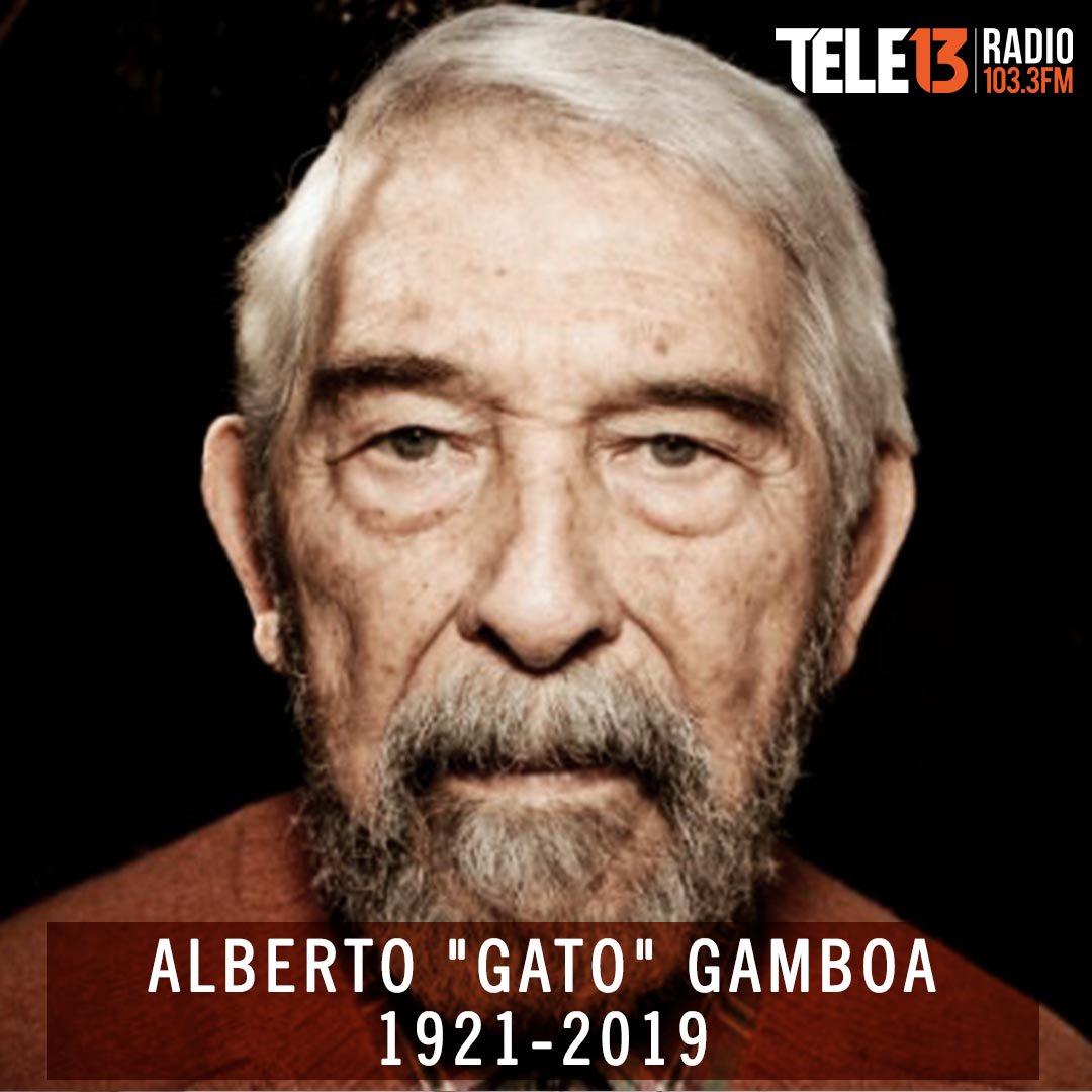 Tele13Radio's photo on Gato Gamboa