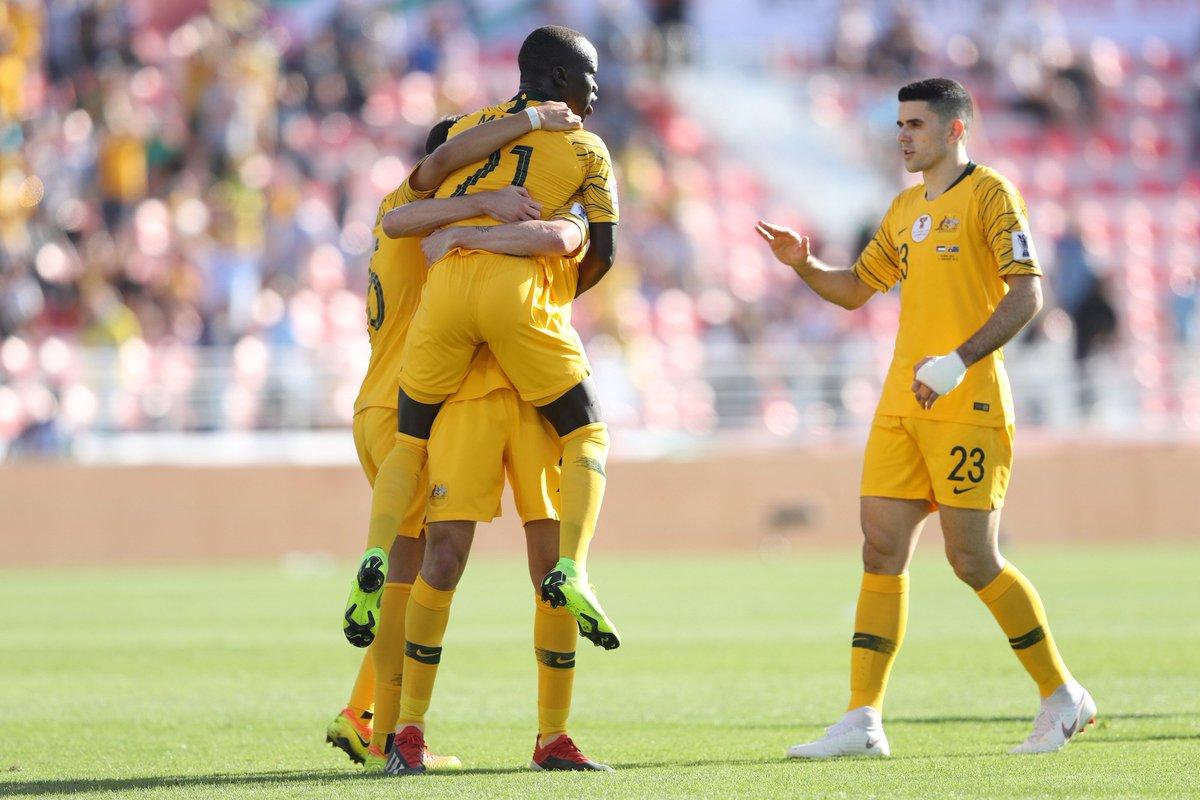Socceroos's photo on jamie maclaren