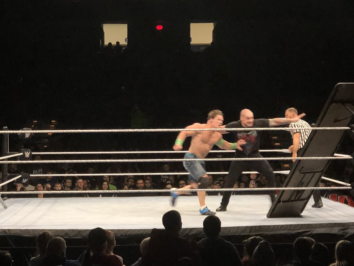 WWE Live Event Results From Charleston (1/11): John Cena In No DQ Match, Elias Sings, Title Matches