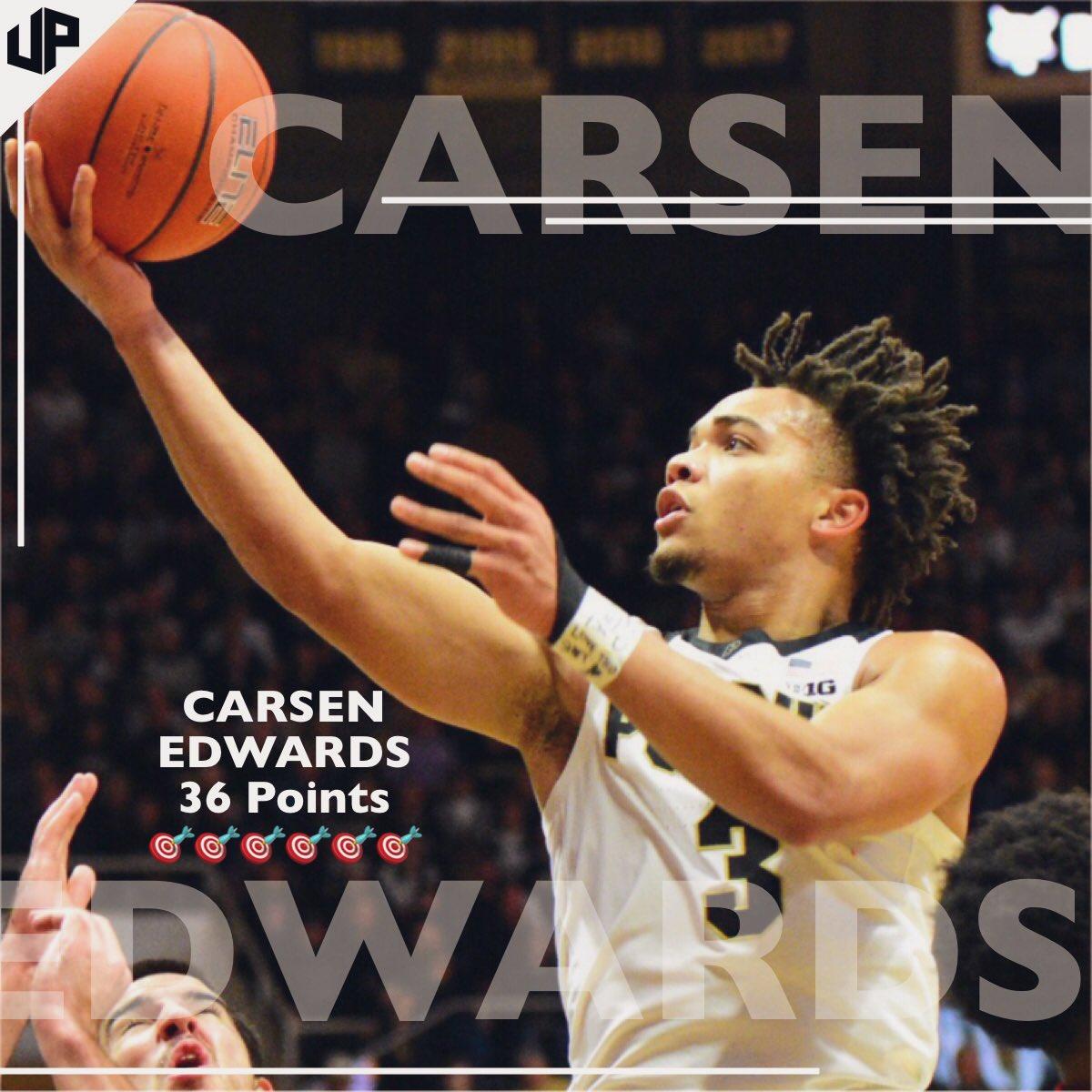 ISC Purdue 🚂💨💨💨's photo on Carsen Edwards