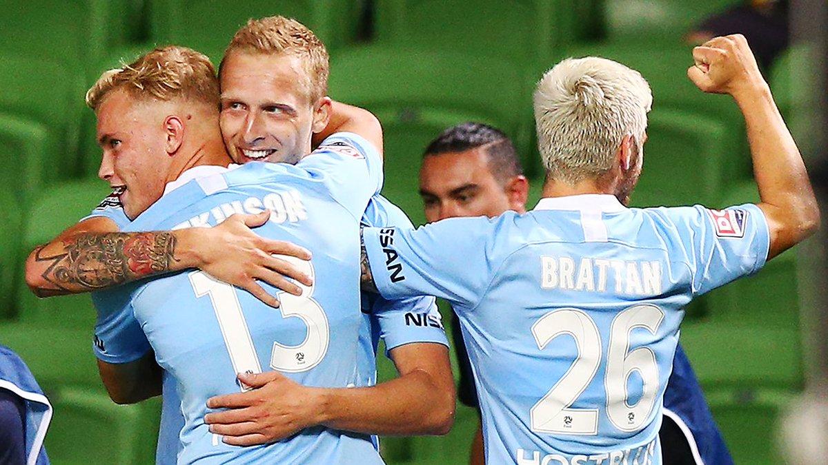 Melbourne City FC 🏙️'s photo on #mcyvbri