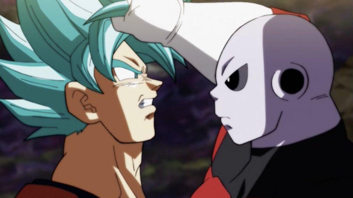 Nominated for BEST FIGHT SCENE at the #AnimeAwards  #DragonBallSuper #GokuvsJiren @Crunchyroll<br>http://pic.twitter.com/eSBlTb9Voy