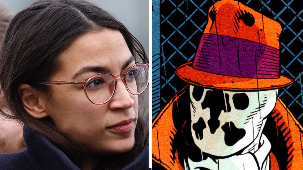 Ocasio-Cortez quotes Rorschach from 'Watchmen' comics in response to criticism by Democrats https://t.co/M2ONptDrsi