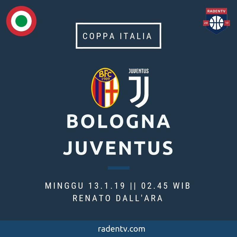 🏆 Coppa Italia  🆚 Bologna vs Juventus  📆 Minggu 13.1.19 ⏲ 02.45 WIB 🆓 Gratis 📱 https://bit.ly/2CjdL6b #BolognaJuve  #CoppaItalia
