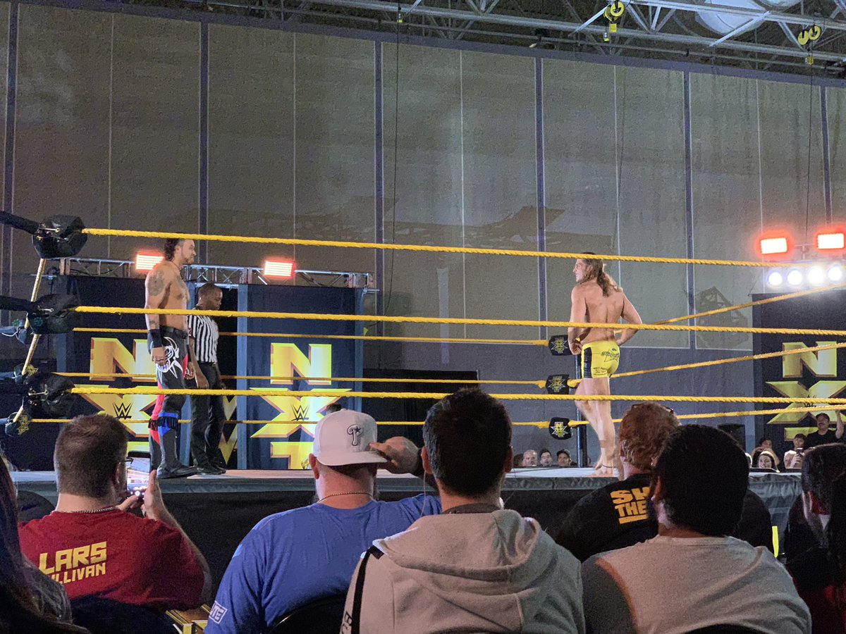 WWE NXT Live Event Results From Ft. Pierce (1/11): EC3 & Heavy Machinery Headline, Mixed Tag Match