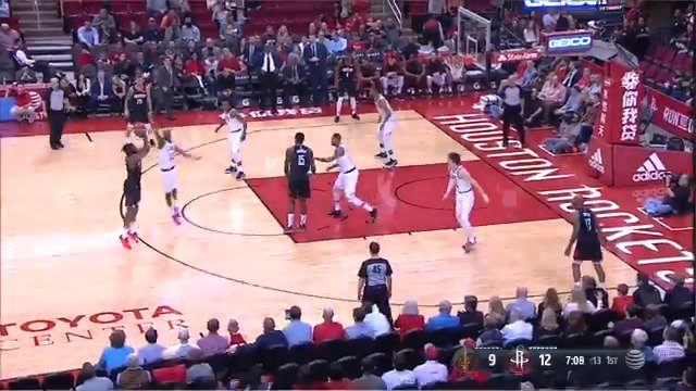 With this triple, James Harden passes Kobe Bryant to become 14th on the all-time 3PM list! #Rockets https://t.co/49p2wWGqYc