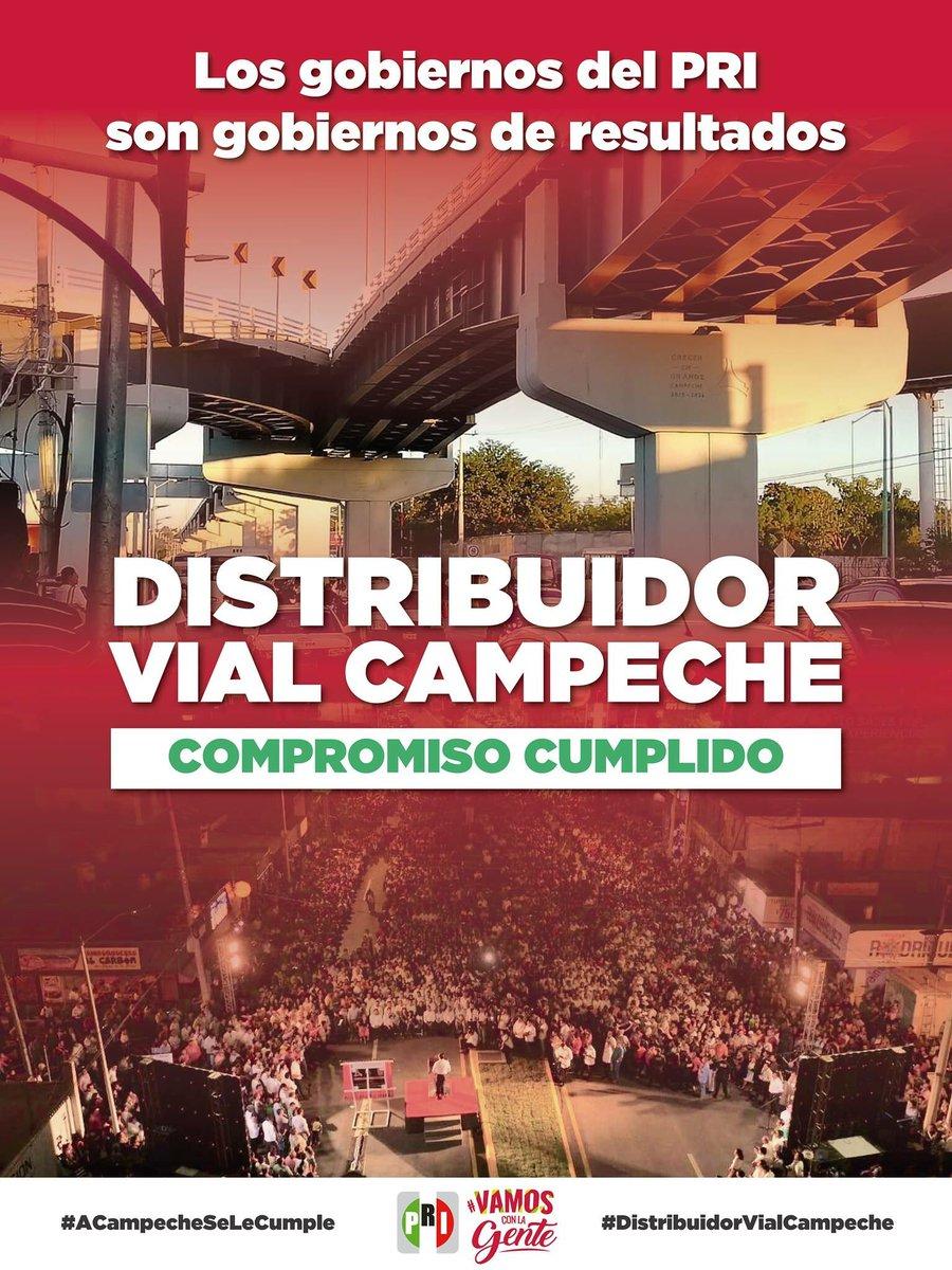 PRI Campeche's photo on #DistribuidorVialCampeche