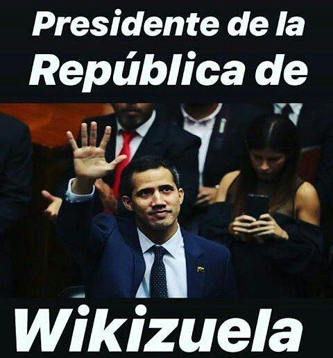 Y ahora con uds el flamante Presidente #GuaidoMuchachoPajuo Photo