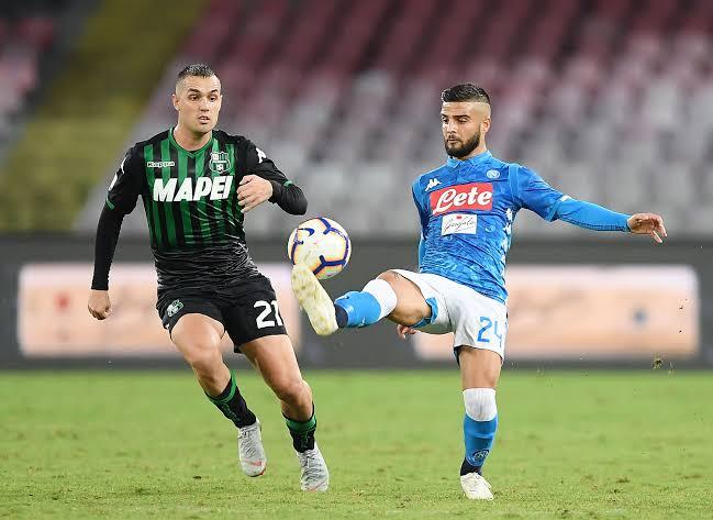 Amanhã tem #NapoliSassuolo pela #CoppaItalia #ForzaNapoliSempre