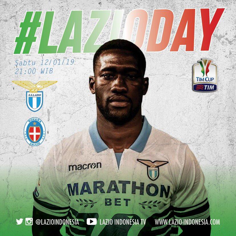 Weekend is #LAZIODAY  Sabtu, 12 Januari 2019 21:00 WIB LAZIO Vs Novara - cek Info Nobar di Info Nonbar Lazio Indonesia [Official Group]  #LAZIOINDONESIA #LAZIONovara #CoppaItalia