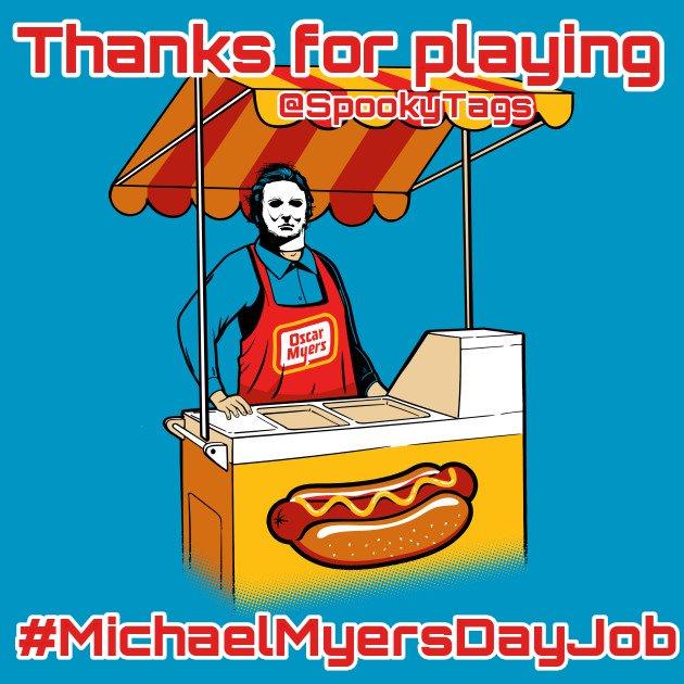 SpookyTags👻's photo on #MichaelMyersDayJob