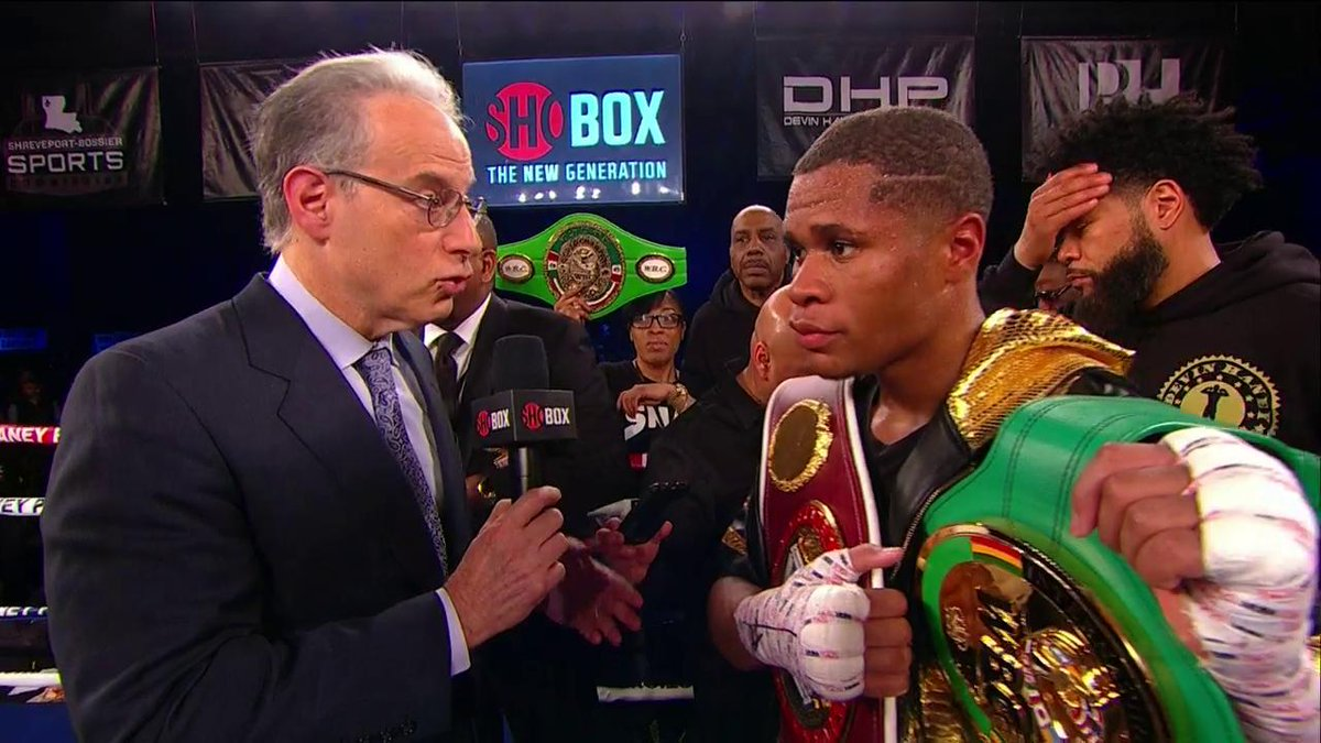 SHOWTIME Boxing's photo on #ShoBox