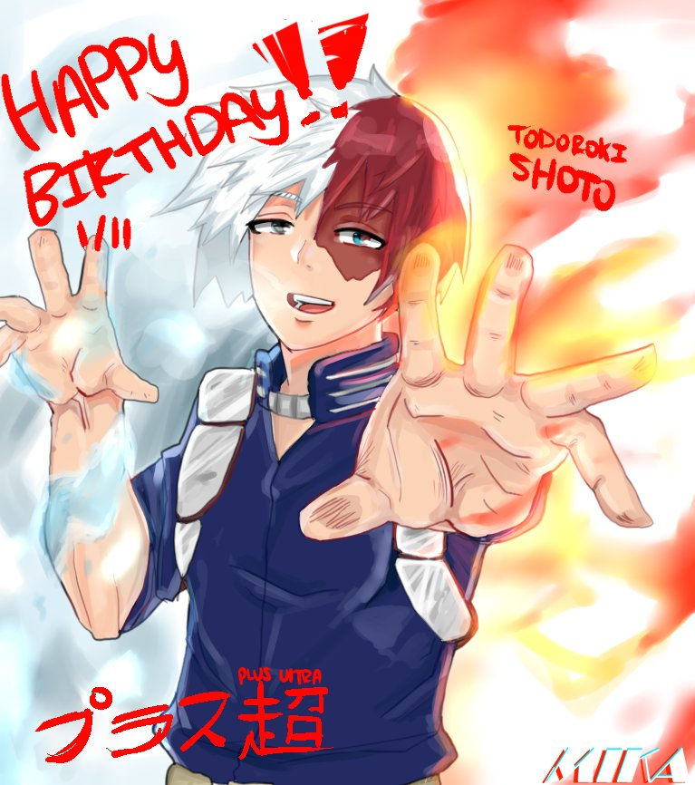 HAPPY BIRTHDAY TO THE ONE AND ONLY TODOROKI SHOTO ❄️🔥 [RTS
