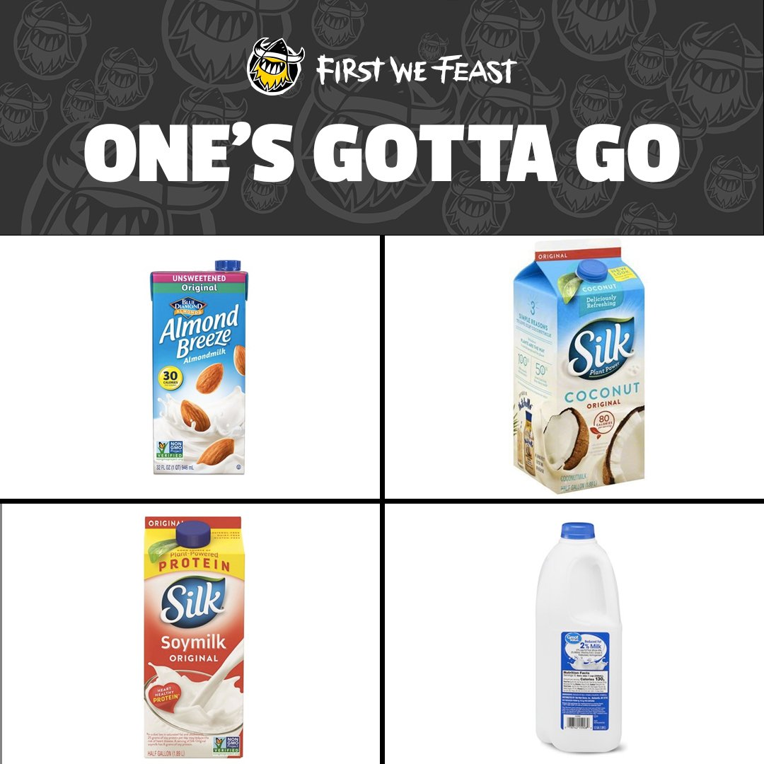 Which one are you droppin'? #NationalMilkDay
