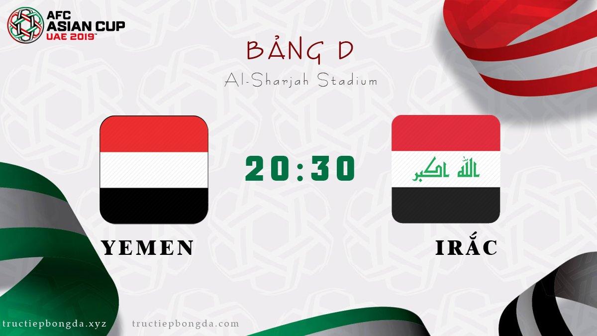 Yemen vs Iraq