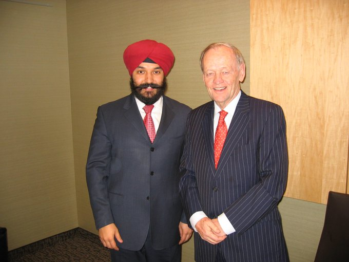 To the one and only Jean Chrétien, happy 85th birthday. Thank you for your longstanding service to Canada.