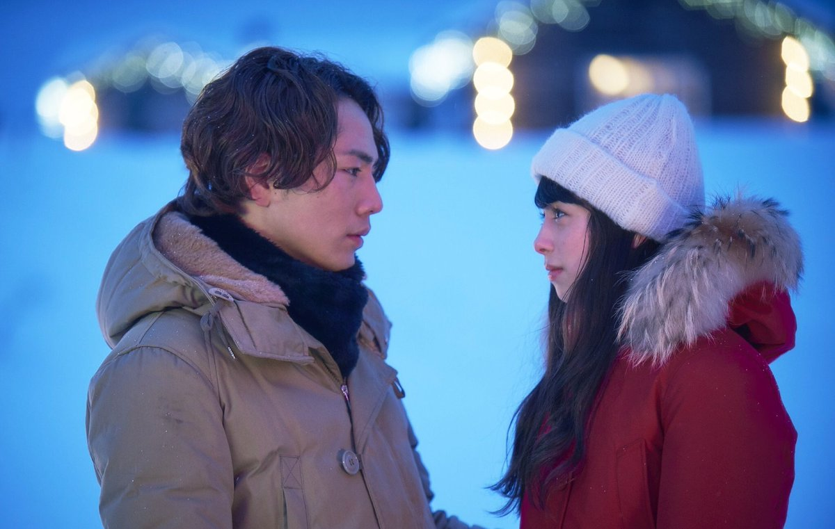 映画『雪の華』's photo on 東京都心部