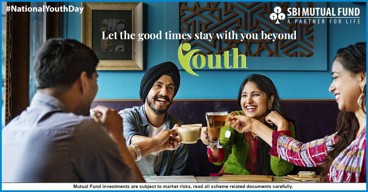 SBI Mutual Fund's photo on #NationalYouthDay