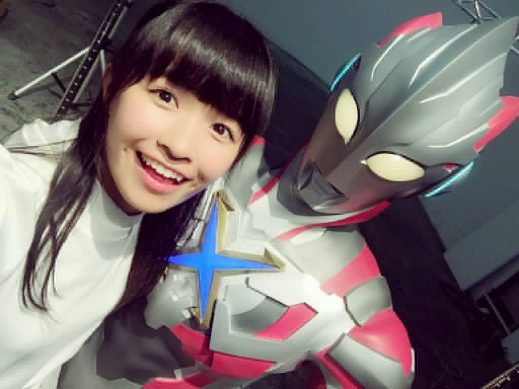百川晴香 (全力少女R)'s photo on ウルトラマンX