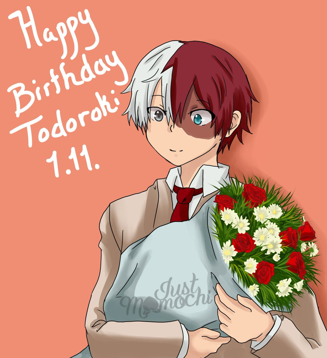 It's still Todoroki's Birthday over here! Happy birthday to my