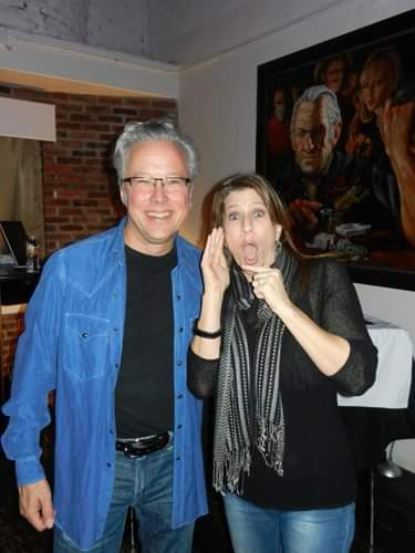 #FBF #flashbackfriday to 2013 when I got to meet my all-time favorite singer-songwriter @RadneyFoster at @KesslerTheater!