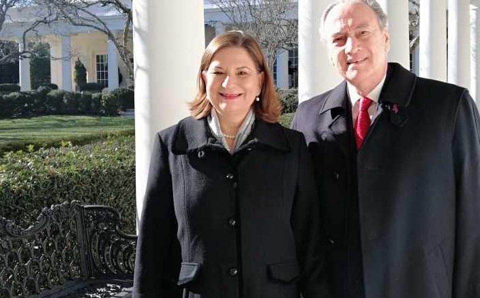 Mexico Times Co News's photo on Martha Bárcena