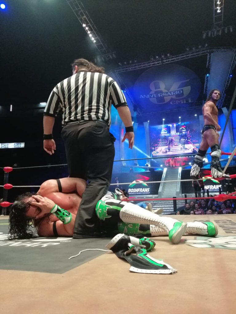 CMLL: Una mirada semanal al CMLL (Del 10 al 16 de enero de 2019) 4
