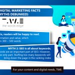 Image for the Tweet beginning: MUST-KNOW DIGITAL MARKETING FACTS (AND
